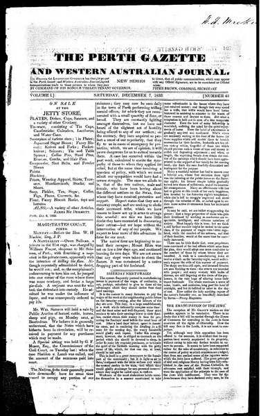 File:The Perth Gazette and Western Australian Journal 1(49).djvu