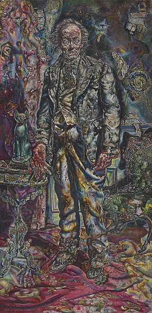 Dorian Gray (character) - Ivan Albright, The Picture of Dorian Gray, 1943-44