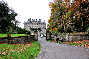 Pollok House - The Pollok House at the Pollok County Park, Glasgow.