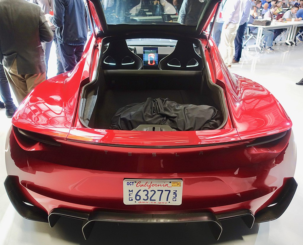 The Rear of the Tesla Roadster 2.0 (47672278811),autotionary.com, for the extreme car lovers