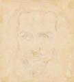 The Secret of Temptation (Malevich, 1908) verso (Portrait of Ivan Kliun).png