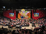 The Wiggles stage, Oakland, California