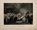The death of William Pitt, Lord Chatham, in the Upper Chambe Wellcome V0006705.jpg