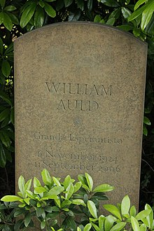 The grave of William Auld, Dollar churchyard.jpg