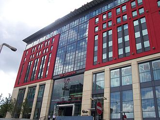 BBC West Midlands - The Mailbox, home of BBC West Midlands since 2004