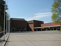 The main building C, Capitolium, of the University of Jyväskylä.jpg