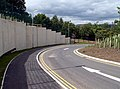 The new exit road from Darton Primary School. - geograph.org.uk - 477632.jpg