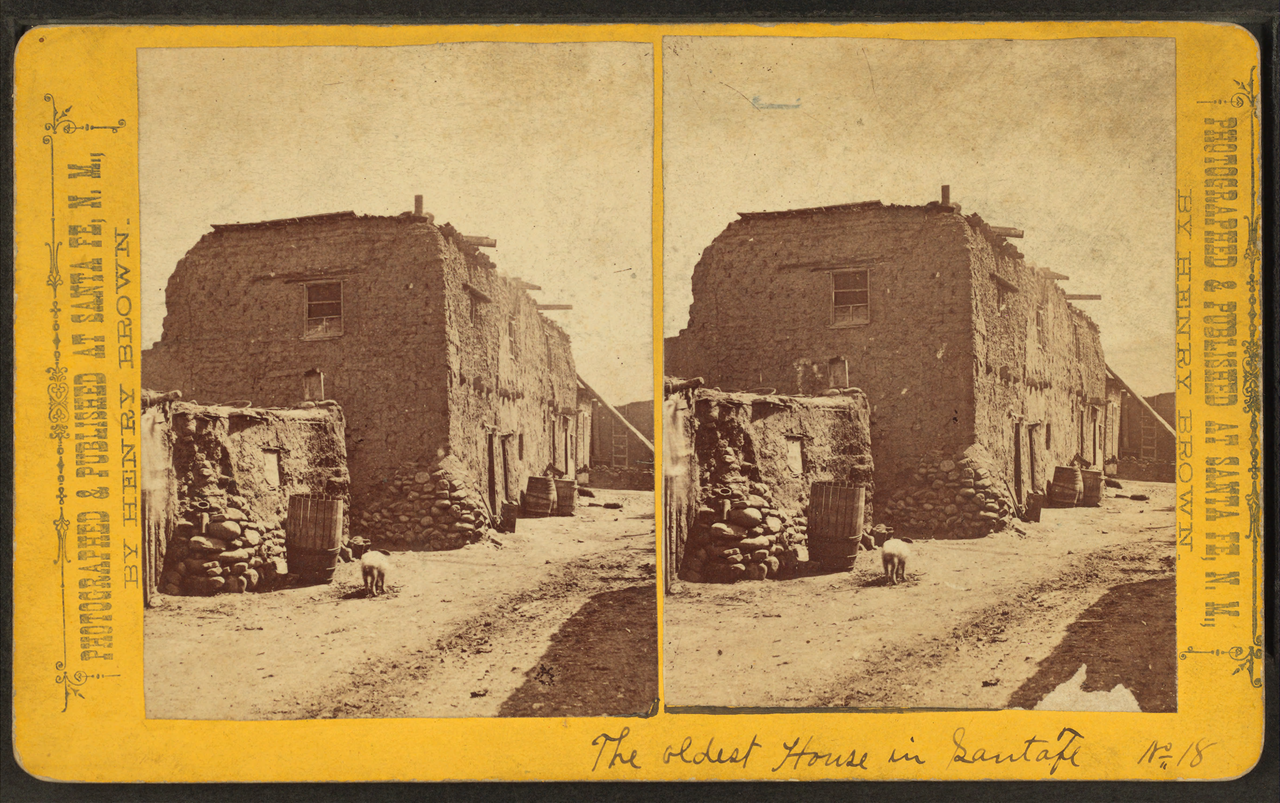 file the oldest house in santa fe  by brown  william henry  1928- png