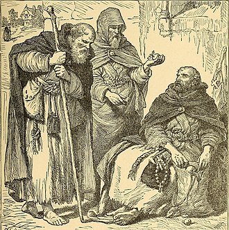 A group of mendicant Christian friars The story of our Christianity; an account of the struggles, persecutions, wars, and victories of Christians of all times (1893) (14597327508).jpg