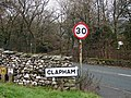 The way to Clapham village - geograph.org.uk - 271921.jpg