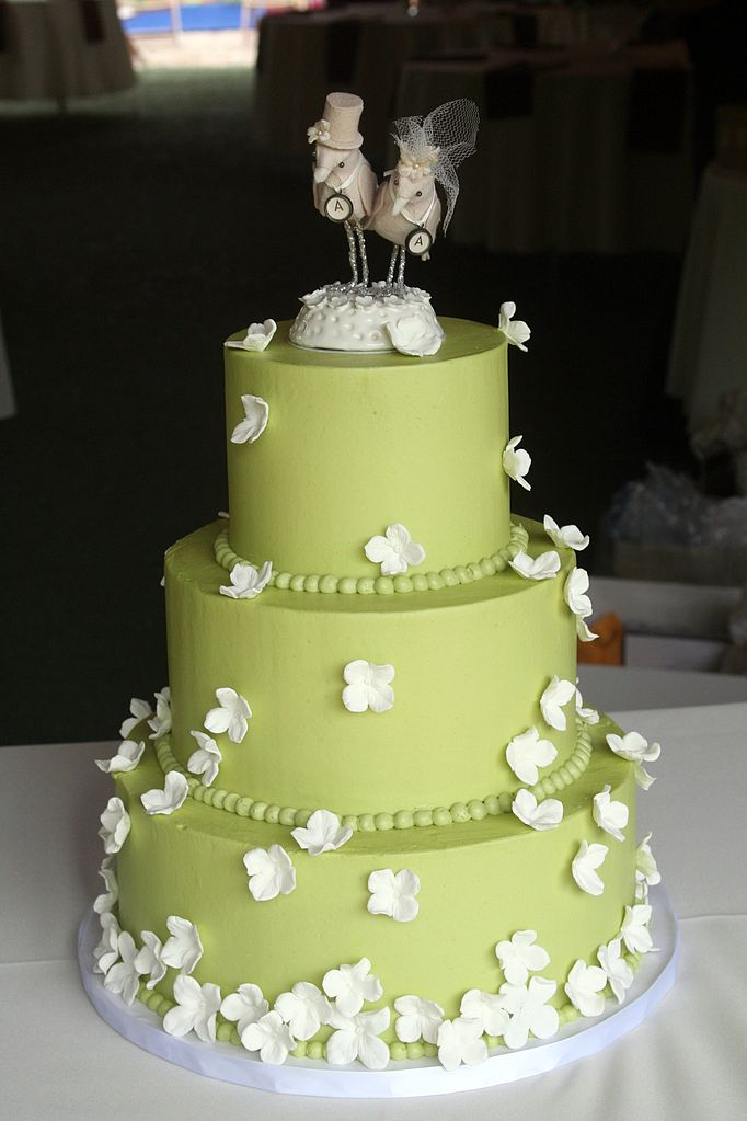 File:The wedding cake for Andy and Allison, 2009.jpg ...