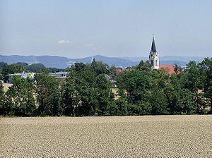 Kirchberg-Thening - Image: Thening 1