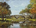 Theodore Robinson - The old bridge.jpg