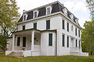 National Register of Historic Places listings in Mineral County, West Virginia - Image: Thomas R Carskadon House 2012