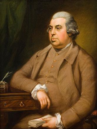 John Thornton (philanthropist) - Portrait of John Thornton (Thomas Gainsborough)