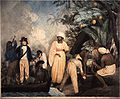 Thomas Gosse, Transplanting of the bread-fruit trees from Otaheite, 1796, SLNSW.jpg