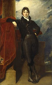 Thomas Lawrence, Portrait of Lord Granville Leveson-Gower, later 1st Earl Granville (c. 1804–1809).jpg