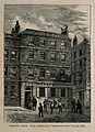 Thomas Linacre's house. Wood engraving by (W. H. P.). Wellcome V0003577.jpg