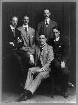 Louis Howe - Thomas Mott Osborne (center)