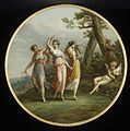 Three dancing nymphs and a reclining cupid in a landscape MET ES5364.jpg
