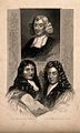 Three men; John Ray, Sir William Temple, and Sir Christopher Wellcome V0006792.jpg