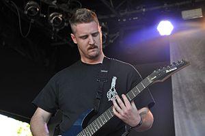 Thy Art Is Murder - Founding member and guitarist Sean Delander