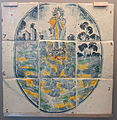 Tile panel with Immaculate Conception, Teruel, Spain, 18th century AD, ceramic - Museo Nacional de Artes Decorativas - Madrid, Spain - DSC08222.JPG