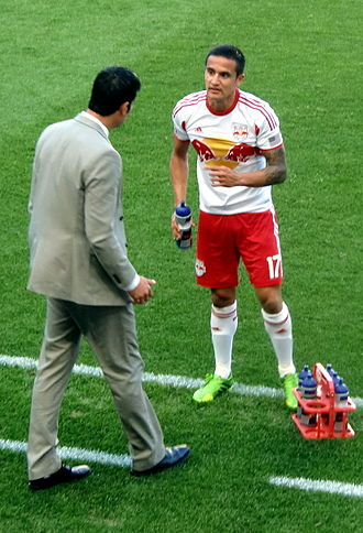 Tim Cahill - Cahill with the New York Red Bulls in May 2013.