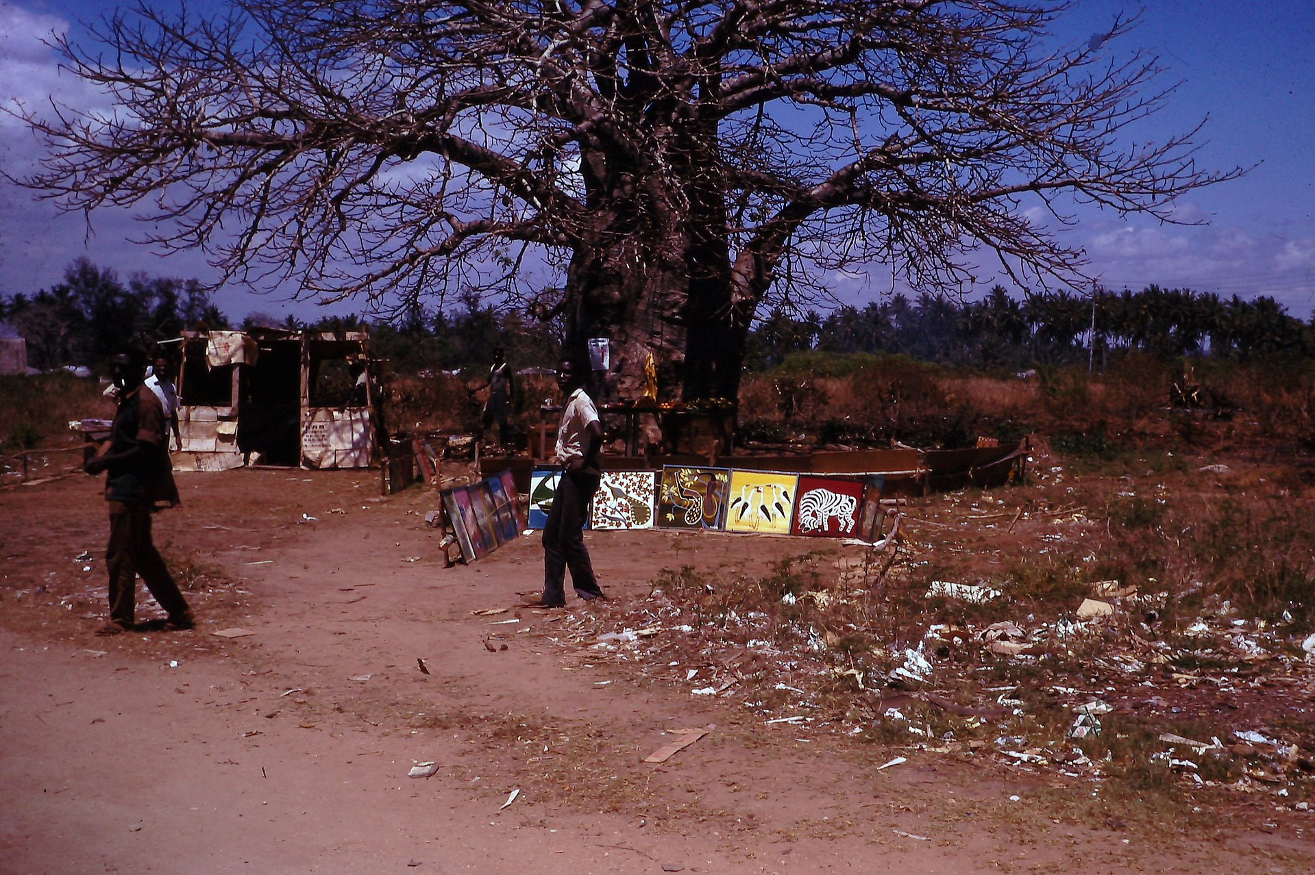 Px Tingatinga School Paintings
