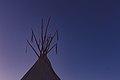 Tipi Sunset - Upper Sioux Agency State Park, Minnesota (35530689906).jpg