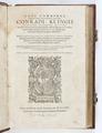 Titelblad till bok från 1565 - Skoklosters slott - 93201.tif