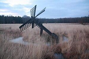 Tjaskers in Drenthe - Tjasker Grolloo, February 2009