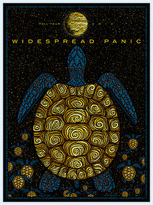 Todd Slater poster - Widespread Panic Fall 2013
