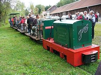 Feldbahn - Peat railway in the Wurzacher Ried