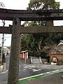Torii in front of Former Kashii Shrine.jpg