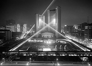 Toronto City Hall - Official opening in 1965