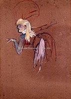Toulouse-Lautrec - FIGURANTE DANS UNE REVUE DES FOLIES-BERGERE, 1896, MTL.193.jpg