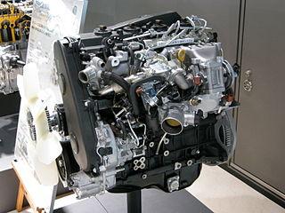 Toyota KD engine Motor vehicle engine