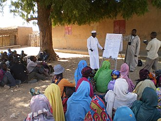 Capacity building - Training course about productive sanitation in Aguié Project, Niger
