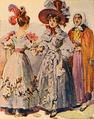 Trajos Femininos do Início do Século XIX (Roque Gameiro, Quadros da História de Portugal, 1917).png