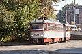 Tram in Sofia in front of Tram depot Banishora 005.jpg