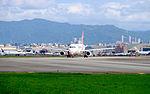 TransAsia Airways Airbus A320-233 B-22318 Departing from Taipei Songshan Airport 20151003a.jpg