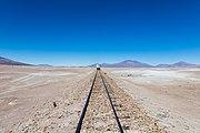 Tren de la FCA en el trayecto Ollagüe-Uyuni, Bolivia, 2016-02-03, DD 96.JPG