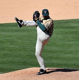 Trevor Hoffman - Hoffman with his trademark leg kick