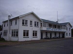 Triabunna - Image: Triabunna Tasmania, Spring Bay Hotel