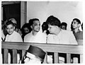 Trial of persons accused of participation and complicity in Gandhi's assassination in the Special Court in Red Fort Delhi.jpg