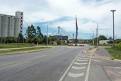 Entrance to the city