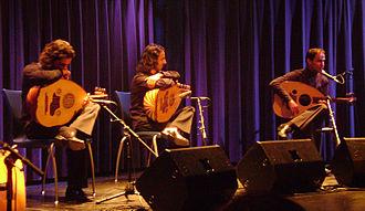Le Trio Joubran - Le Trio Joubran,  at a concert in Austria, 2008