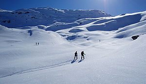 From a skiing trip to Skorafjell (1583 m a.s.l...