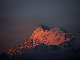 Trisul - Sunrise on Trisul